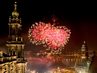 Silvester in Dresden (Foto: Sylvio Dittrich DML BY)