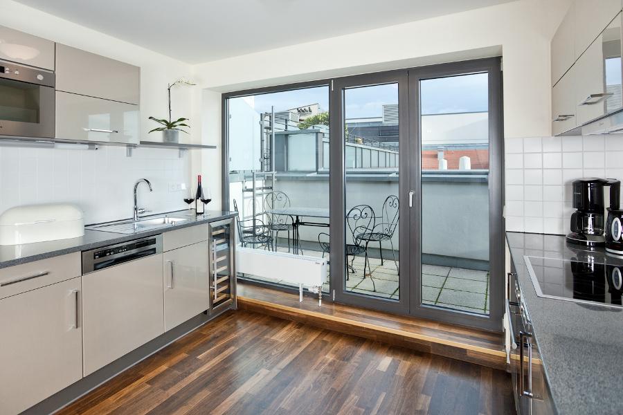 superior apartment - Apartment Küche